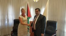 Mayor of Bethlehem welcomes today the Representative of Poland in Palestine