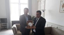 The Mayor of Bethlehem met with the Deputy Mayor of Paris and focused on the ongoing mutual projects
