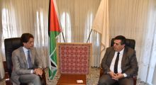 Mayor of Bethlehem welcomes the  President of the Vatican Foundation Dr.  Salvatore Martinez